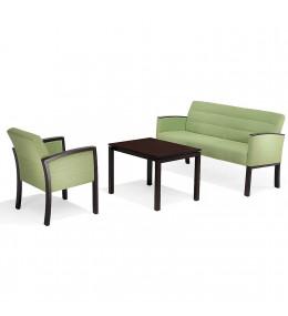 5050 Vega Reception Armchair and Bench