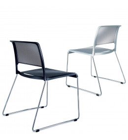 Aline Skid-Base Chairs