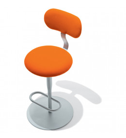 Atlas Barstool 758 - with backrest