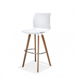 2080 Uni_Verso Barstool with backrest