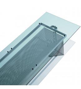 Tesi Dining Table 609 - clear crystal table top