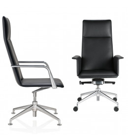 FinaSoft Conference Swivel Chairs are available with Glides or Castors