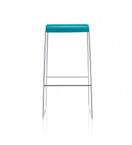 Fina Bar Stool with Stackable Sled Base