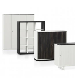 Grand Slam Office Storage Range is available in a wide range of finishes