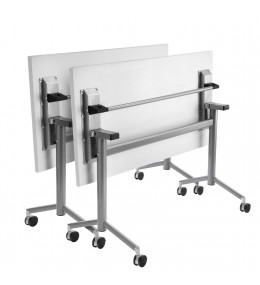 IS Folding Meeting Table with castors
