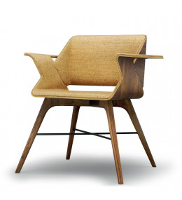 Nest Wings Armchair Cork Upholstered