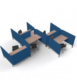 BuzziTemp Acoustic Workbays