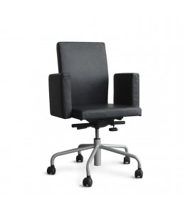 Pub and Club Desk Chair - 5 Star Base