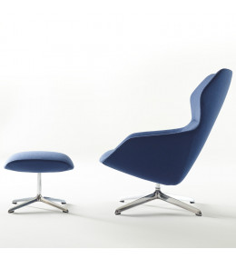 Ray Lounge Chair and Ottoman