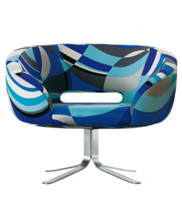 Rive Droite Tub Chair Blue