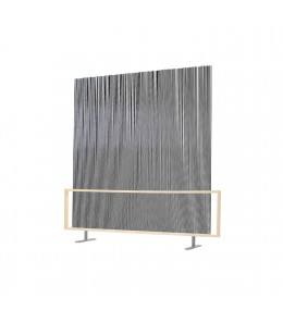 Spaghetti Wall Room Divider - Black