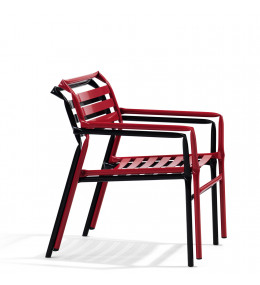Straw Stacking Lounge Chair O36