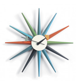 Sunburst Wall Clock by George Nelson