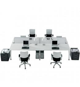 Tiper Desk Bench System by Frezza