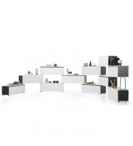 Tube Office Storage Cabinets by Koleksiyon