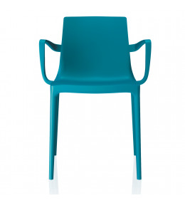 Twin Plastic 4-Legged Armchair