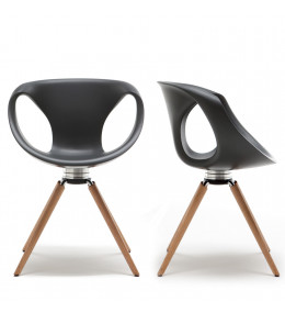 Up Chair Wooden Legged