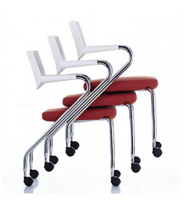 Vitra Visaroll 2 ChairsStacked