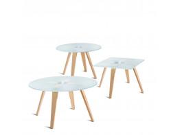 Austen Glass Tables