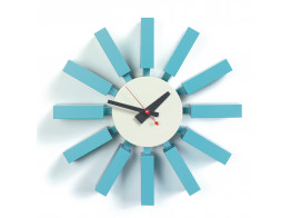 Block Wall Clock