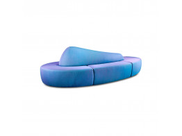 Bloid Free Form Seating in Blue