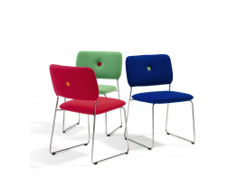 Dundra Sled Base Chairs S70