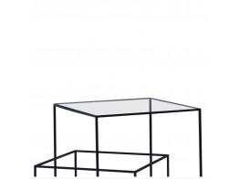 Thin Black Low Table by Cappellini