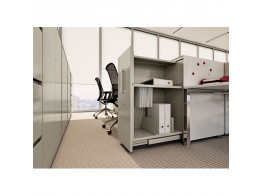 Vertical File Unit H1100 Desk Side Pedestal