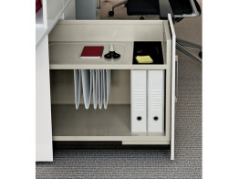 Vertical File h710 Desk Side Pedestal