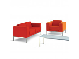 HM25 Sofa + Armchair + Low Table