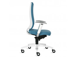 In Touch White Office Chair by Ballendat