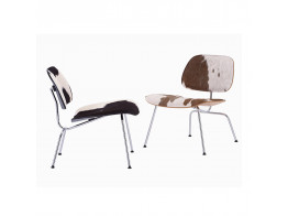 LCM Plywood Chairs Cowhide