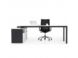 Koleksiyon Lean Office Desk with Pedestal