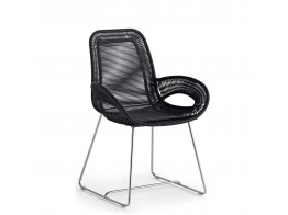 Coates Loop Chair in Black Acrylic