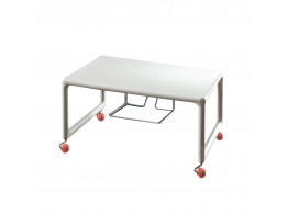 Low Air TV Table on Castor Wheels