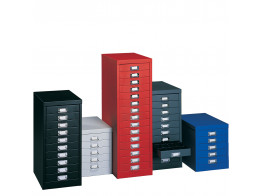 Multi Drawers Colours by Silverline