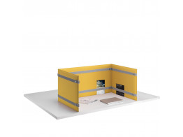 Pli Desk Divider Privacy Screen