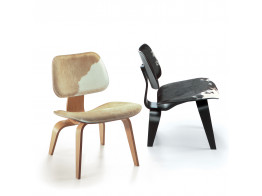LCW Calf's Skin Plywood Group Chairs