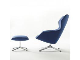 Ray Lounge Chair and Ottoman