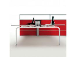 Shi Bench Desking + Te by Apres