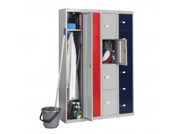 CLK Storage Lockers with Wardrobe Unit