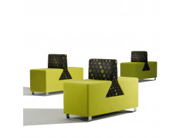 Time Bench Breakout Seating