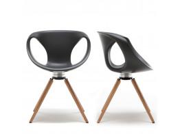 Up Chair Wooden Legged