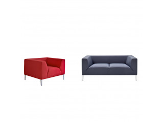 Allure Sofa and Armchair