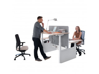 Balance Height Adjustable Bench Desk
