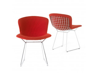 Bertoia Side Chairs Fully Upholstered