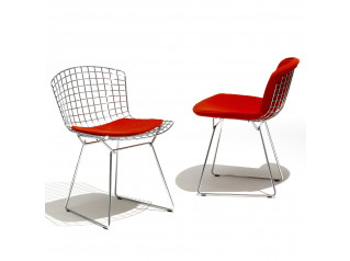 Bertoia Side Chairs With Seat Pad