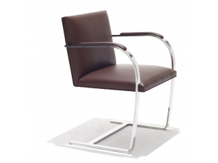 Flat Bar Brno Cantilever Chair
