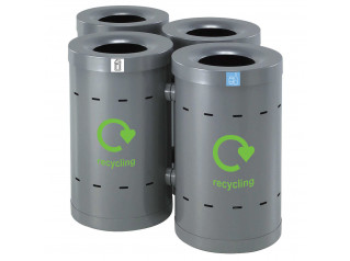 Bros Linkable Recycling Bins