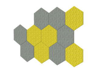 BuzziTile 3D Acoustic Wall Panels